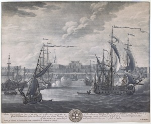 Fort William, Calcutta, 1735